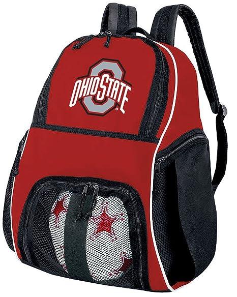 Ohio State University de balón de fútbol mochila o OSU BUCKEYES ...