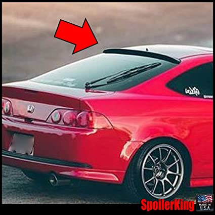 amazon com acura rsx 2002 2006 dc5 rear window roof spoiler 284r