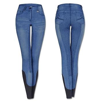 großartige Qualität erstaunliche Qualität detaillierte Bilder Waldhausen Jeans-Reithose Hope, blau, 152, blau, 152: Amazon ...