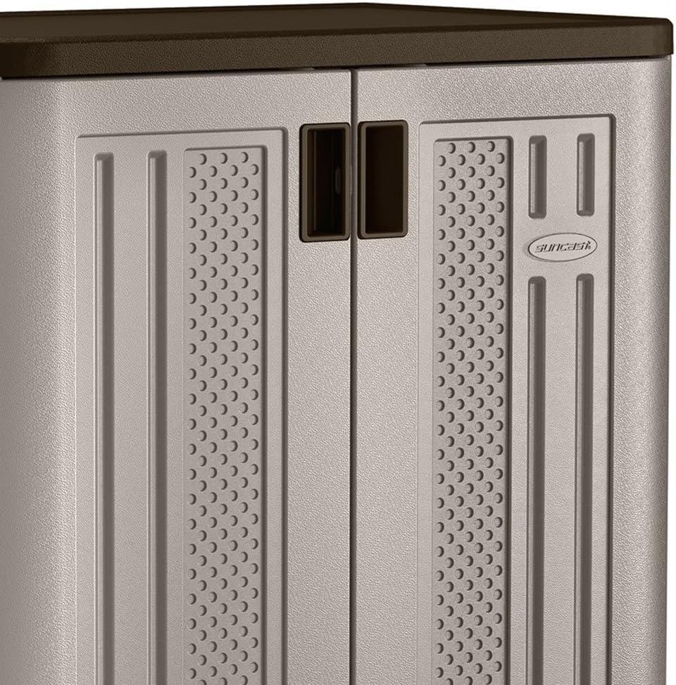 Platinum 3 Pack Suncast 9 Cu Ft Heavy Duty Resin Garage Base Storage Cabinet