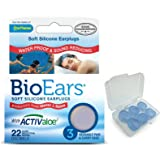 Bio Ears Soft Silicone Earplugs Multi Pack (1 Pack (3 Pairs))