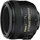 Nikon AF-S 50mm f1.4G Lens, Black