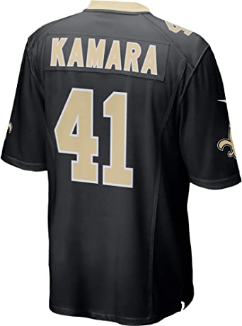 Outerstuff Alvin Kamara New Orleans Saints NFL Youth 8-20 Black Home Mid-Tier Jersey