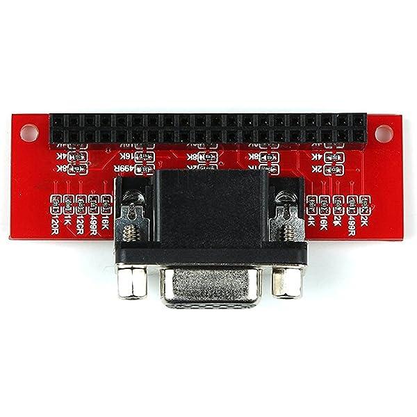 Cikuso VGA666 Adaptador GPIO para VGA Breakout Junta de Frambuesa ...