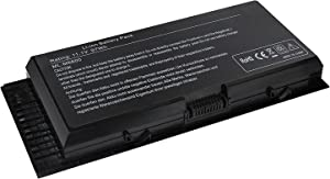 LQM 11.1V 97Wh 9-cell New Laptop Battery for Dell Precision M4600 M4800 M6600 M6800 FV993 FJJ4W PG6RC 7DWMT JHYP2 K4RDX
