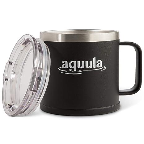 Amazon.com: Taza de acero inoxidable para café/cerveza, con ...