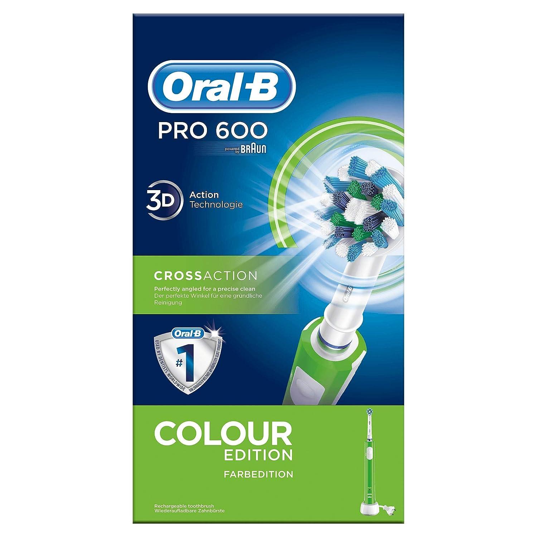 Oral-B, Cepillo de Dientes Eléctrico Recargable, con Tecnología ...