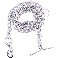 PSK PET MART PSK Dog Chain Silver Grind No.8 (L - 60inch) for Large Dogs