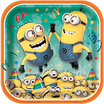 Minions Party Balloons Tableware Invatitions Candles