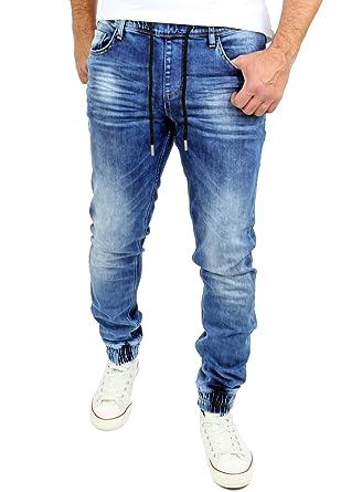 Reslad Jogg-Jeans Sweathose in Jeansoptik Jeans-Herren Slim Fit Herren-Hose  RS-2073  Amazon.de  Bekleidung 6fb267d7fb