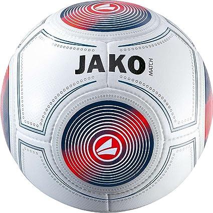 4 & 5 NEU Fußball Jako Trainingsball Champ weiß rot schwarz Herren IMS-Zertifiziert Gr