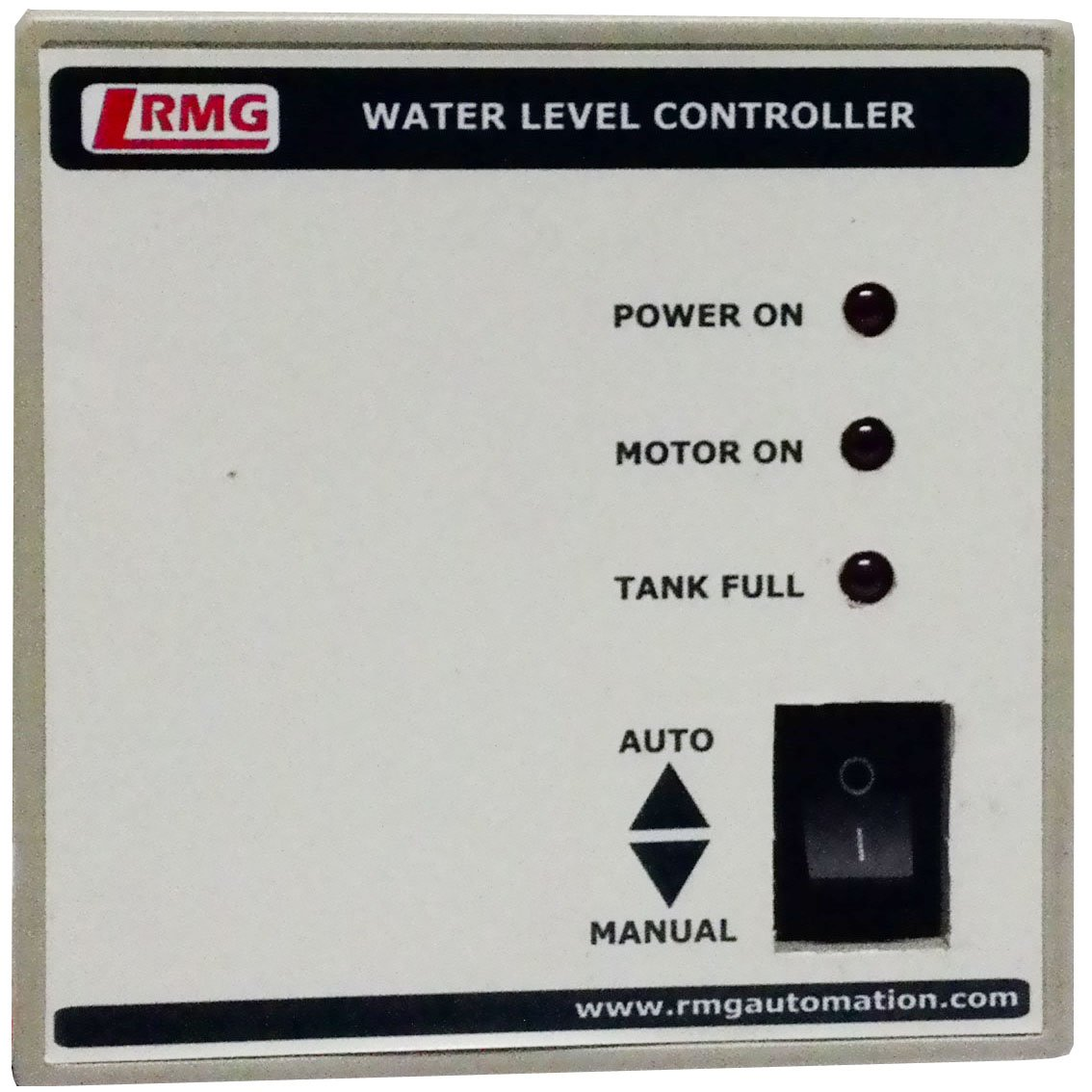 Rmg Automatic Water Level Controller For Motor Pump Operated By Detector Circuit Diagram Switch Mcb Upto 15 Hp Tank Only Home Kitchen