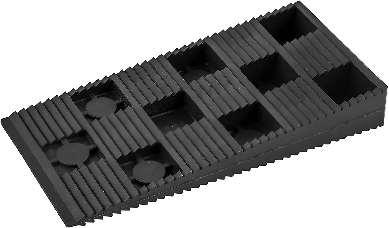 TIMco PIW915/Bo/îte de 200 cales en plastique Noir 90/x 45/mm