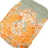 3890cbedd0568 Happy Star® - Echarpe - Femme Orange Orange Large  Amazon.fr ...
