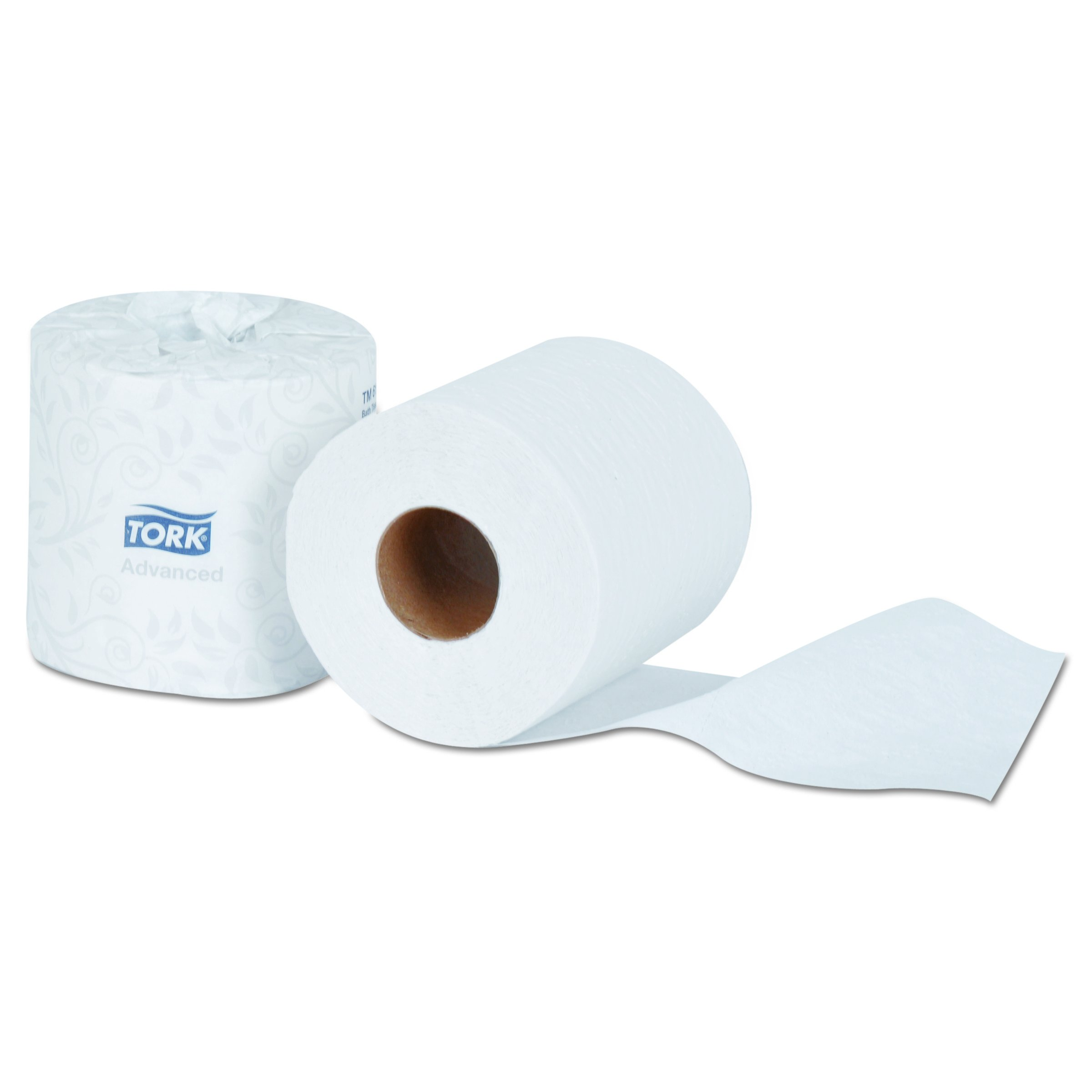 Tork TM6120S Advanced 2-Ply Bath Tissue, 2-Ply, White, 500 Sheets (Case of 96 Rolls)