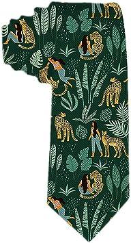 Mujeres Y Leopardos En El Bosque Corbatas De Regalo Únicas ...
