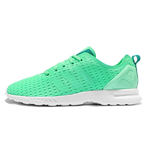 ceaa0e0e39d6 adidas Womens Originals Womens ZX Flux Adv Smooth Trainers in Green - UK 4.5