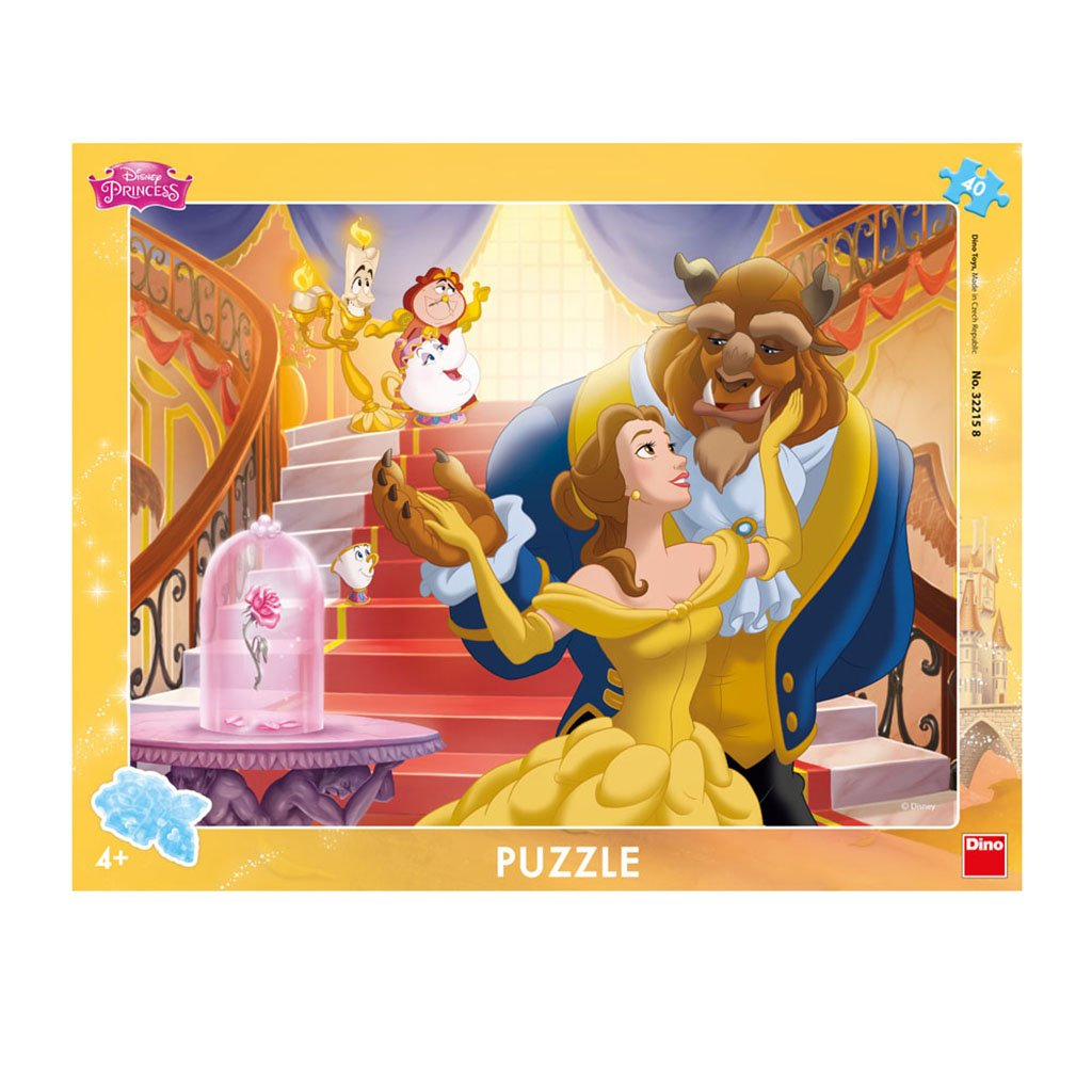 Dino Toys 322158 Desk Jigsaws Puzzle with Frame Disney Princess Motif Dino Toys322158