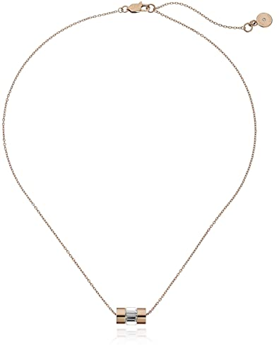 c9a5c34b08637 Image Unavailable. Image not available for. Color  Michael Kors Park Avenue Rose  Gold-Tone Necklace