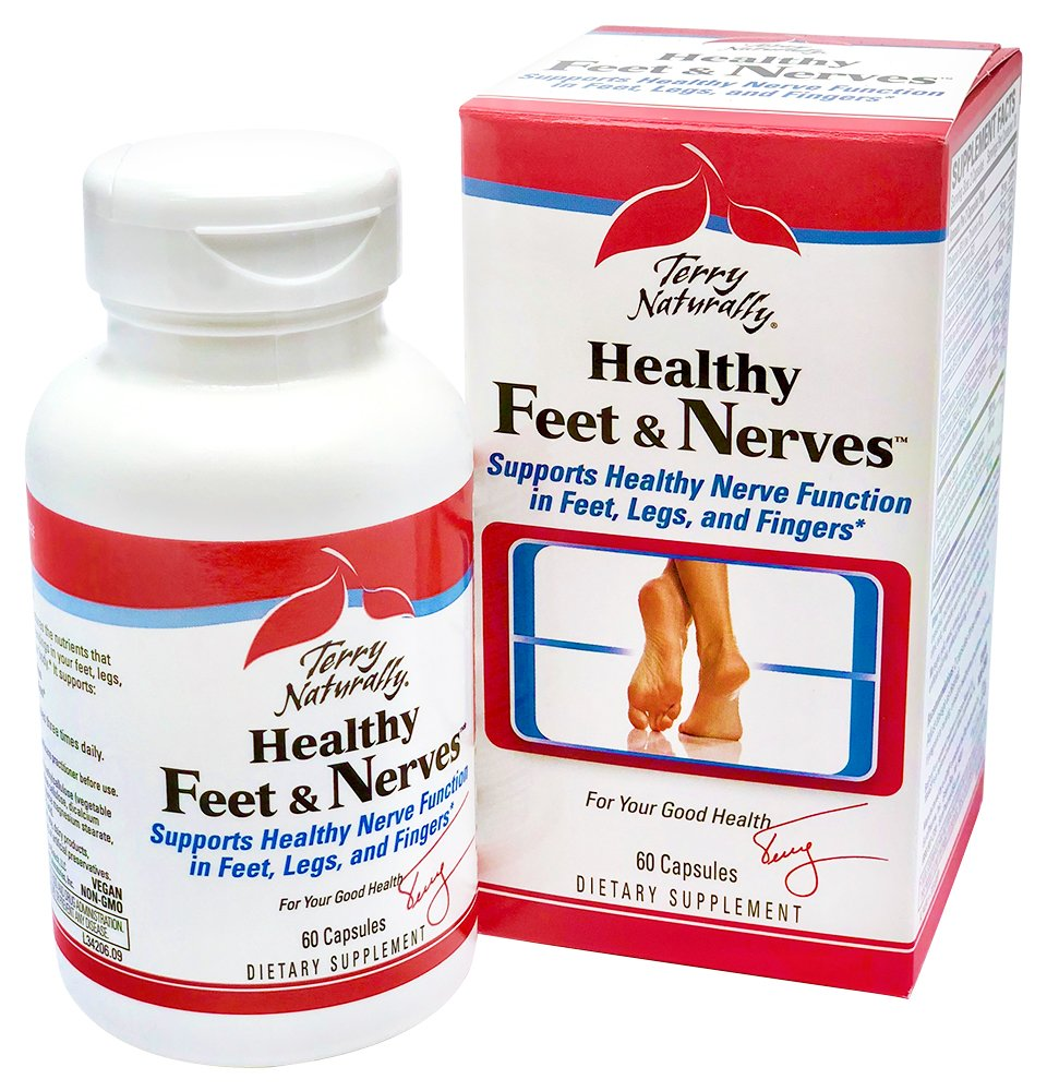Amazon Terry Naturally Healthy Feet Nerves 60 Capsules
