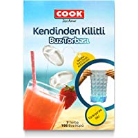 Cook Buz Torbası Kendinden Kilitli 7 Adet