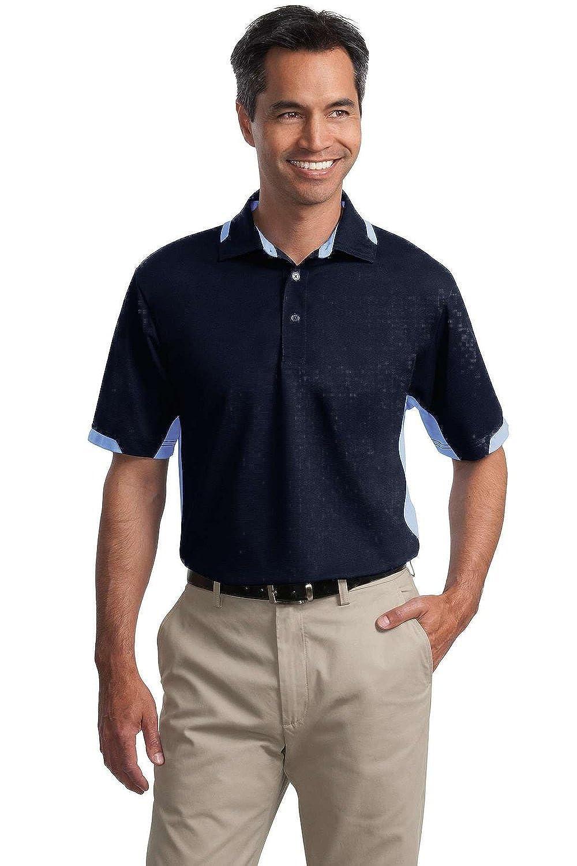Port Authority Dry Zone Colorblock Ottoman Sport Shirt K524