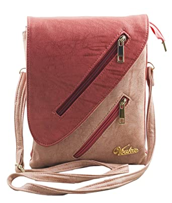 Voaka Women's RED-PINK Sling Bag: Amazon.in: Clothing & Accessories
