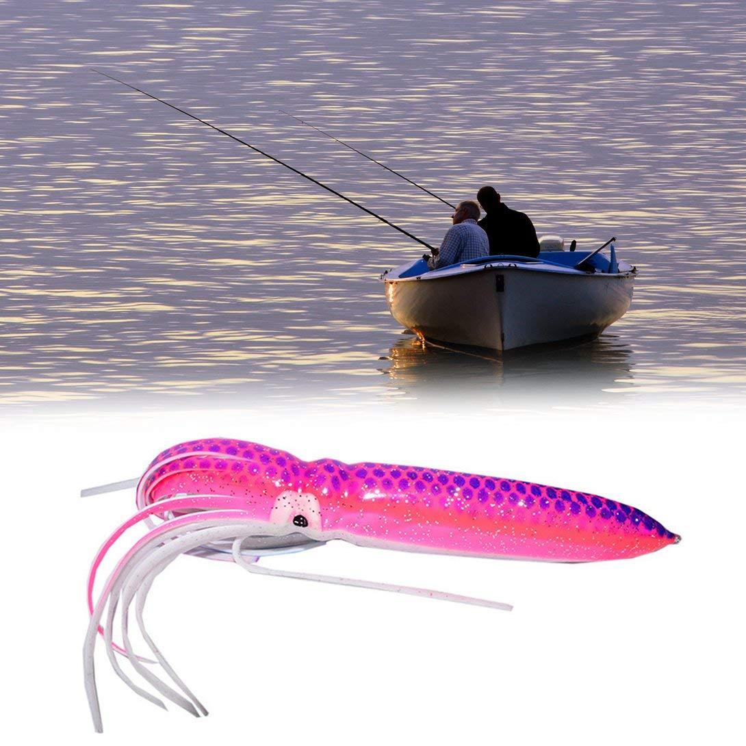 15g esca morbida grande gonna di polpo calamaro gonna esche trolling esca pesca richiamo polpo Swiftswan 18 cm
