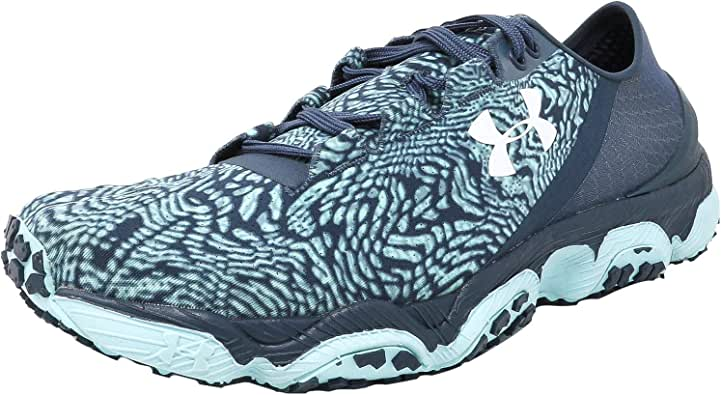 Under Armour Women's Speedform Xc Mechanic Blue/Veneer White Ankle-High Running Shoe - 6.5M