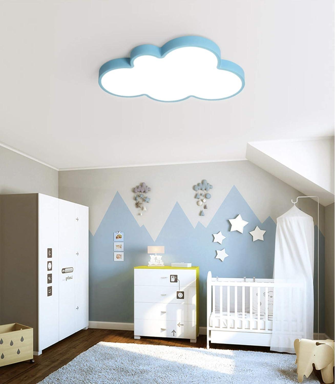 wei/ßes Licht 24W LIUNIAN Ultrad/ünne Deckenleuchte 5cm Led Kreative Wolken Cartoon Einfache Deckenleuchte Beleuchtung f/ür Jungen M/ädchen Schlafzimmer Kindergarten