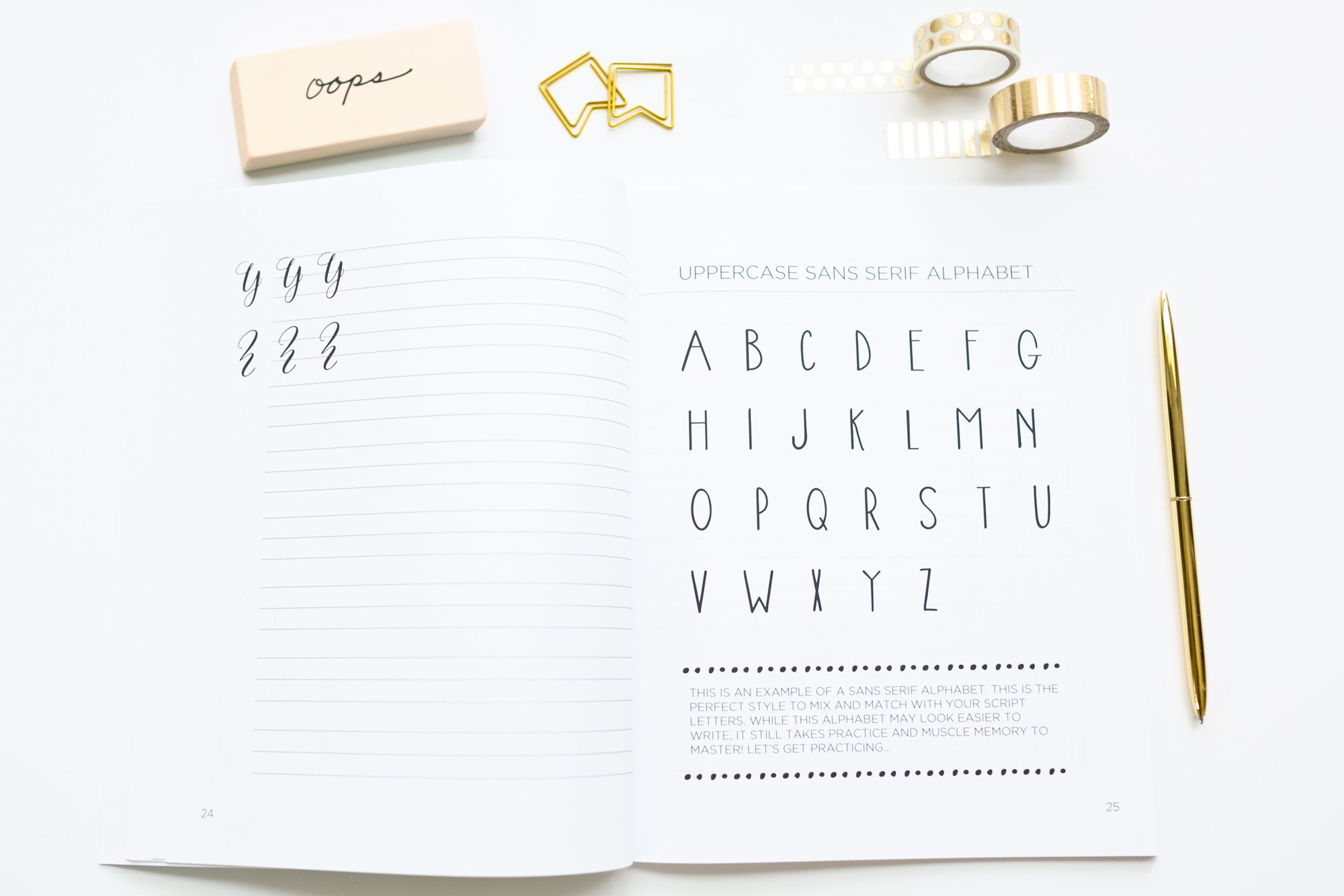 Lettering For Beginners A Creative How To Guide With Alphabet Guides Projects And Practice Pages Design Co