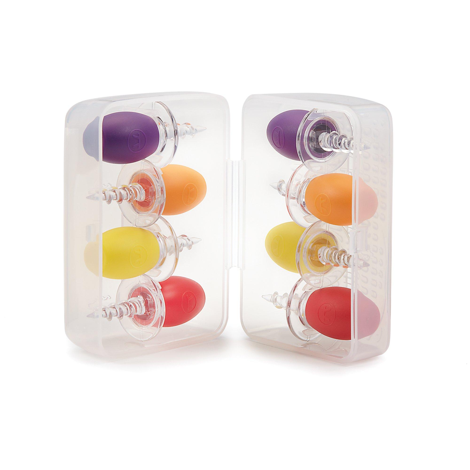 Outset F129 Corn Crib Corn Holders, Set of 8, Assorted Colors