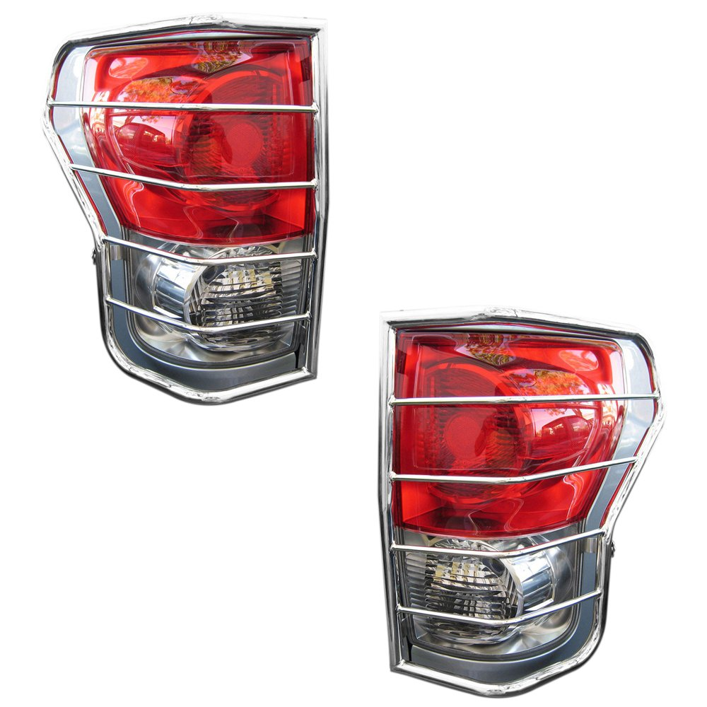 BLACK HORSE 7G110206SS Stainless Steel Tail Light Guards