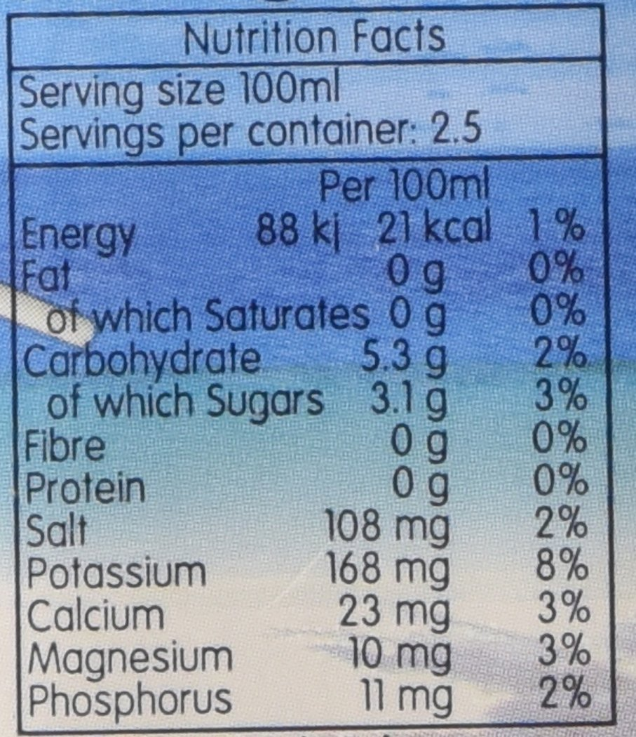 KOH Coconut Water, 8.45 Ounce (Pack of 24) by Outernational Brands, Inc. (Image #2)