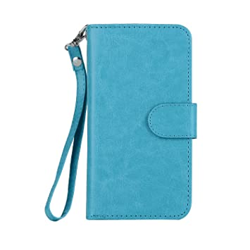 Green Leather Flip Case Wallet for Samsung Galaxy S10 Stylish Cover Compatible with Samsung Galaxy S10