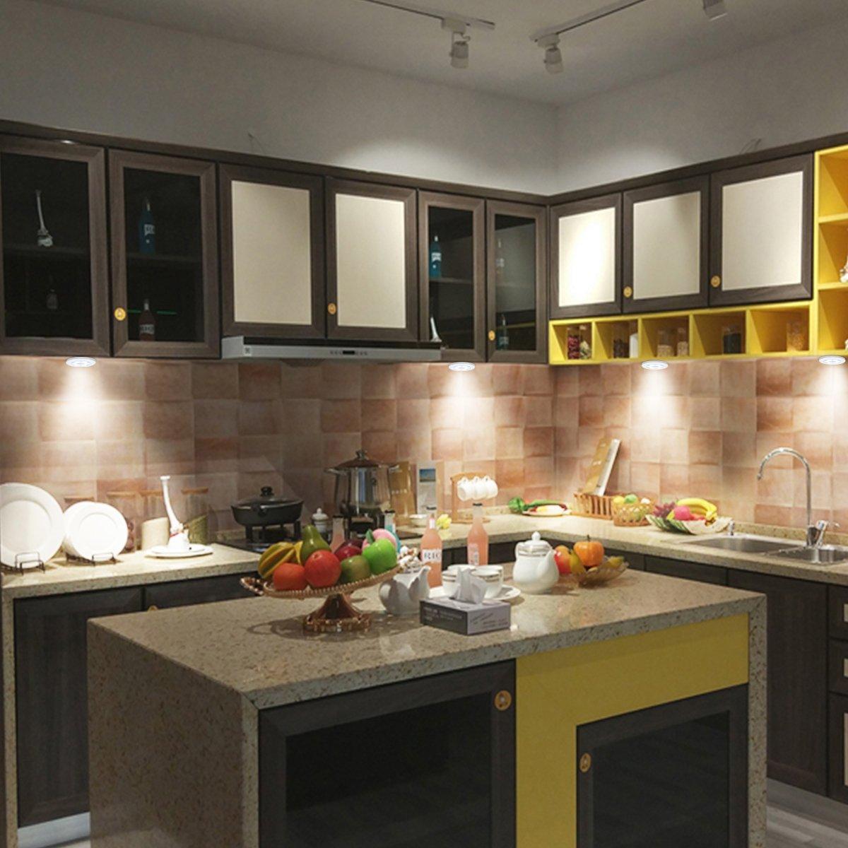 Erfreut Beleuchtung Unter Küchenschränken Drahtlosen Fotos - Küche ...