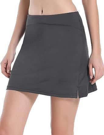 COOrun Women's Active Athletic Skort Lightweight Skirt with Zipper Pockets for Running Tennis Golf Workout Skirts S-XXL
