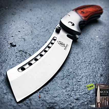 Amazon.com: SURVIVAL STEEL - Cuchillo de muelles tácticos ...