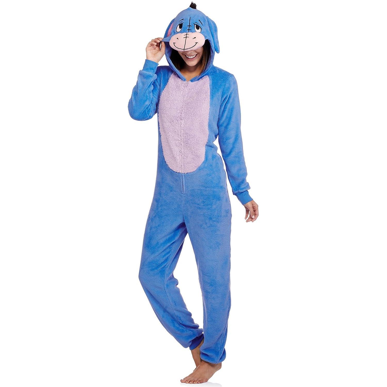 Para mujer Disney Eeyore una pieza unión Set traje de pijama para dormir, Azul: Amazon.es: Deportes y aire libre