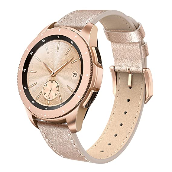 Amazon Com Swees Leather Band Compatible Galaxy Watch 42mm 20mm