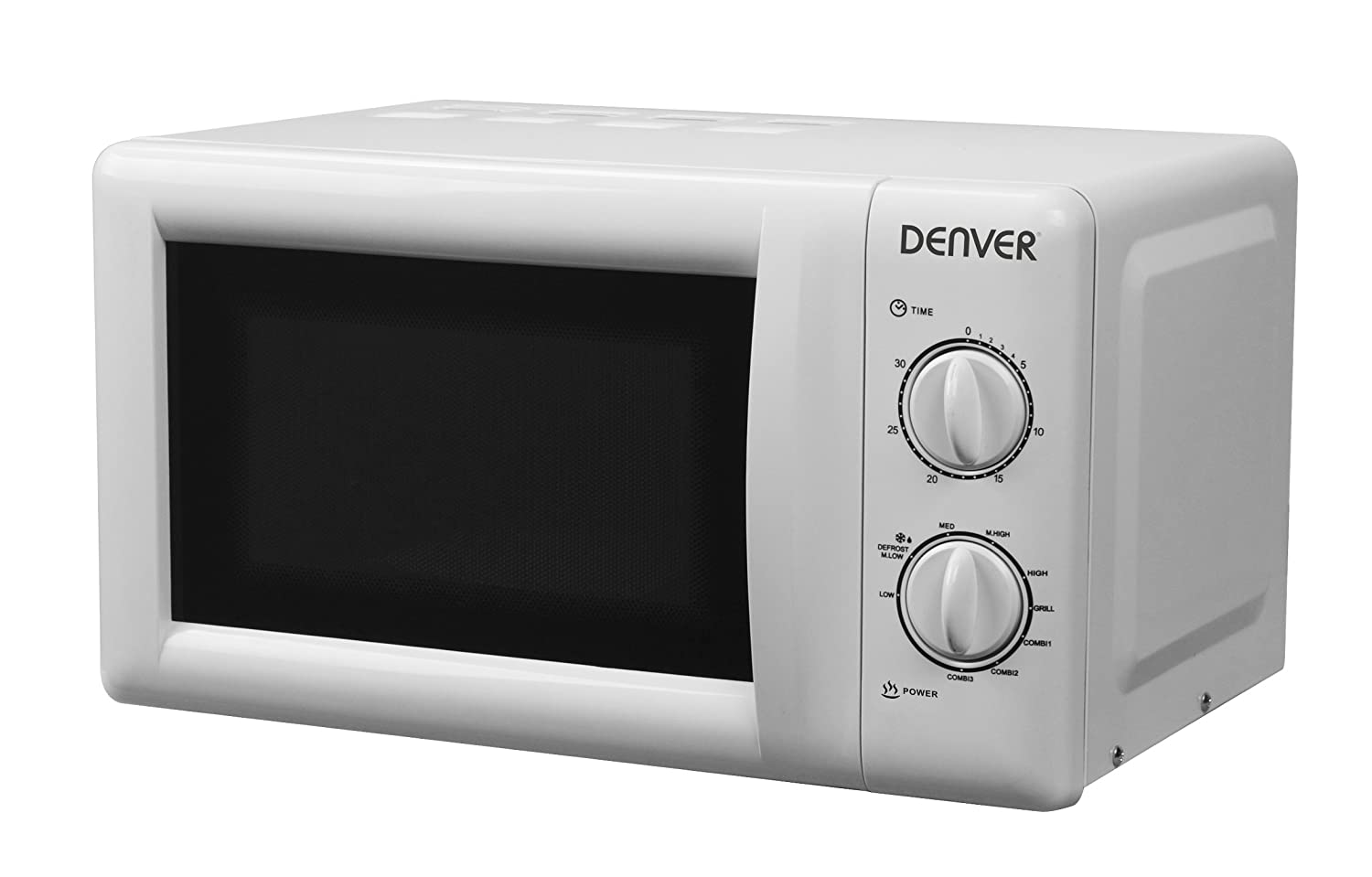 Denver OG-2030 Microondas con Grill Acero Inoxidable 800W ...