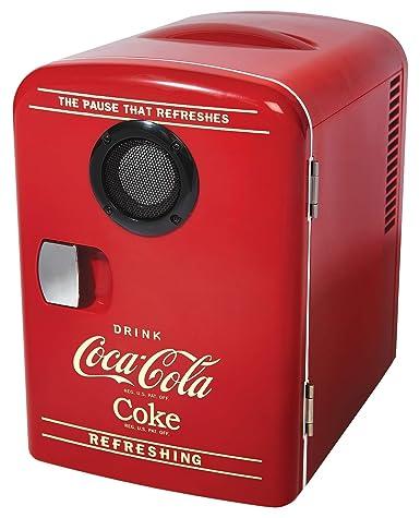 Coca-Cola 6 latas AC/DC Retro Enfriador con altavoz Bluetooth por ...