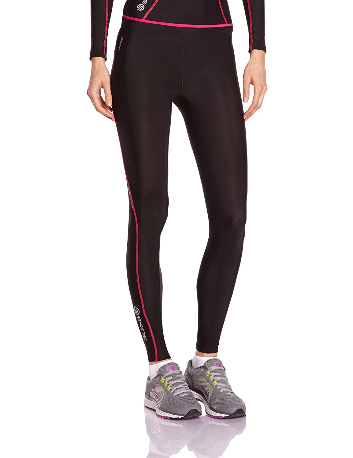 Skins A200 Women's Compression Long Tights Skins North America B61033001FL-P