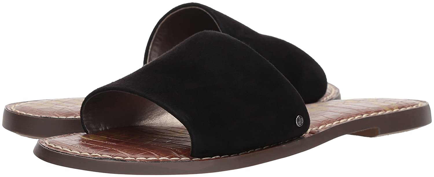 Sam Edelman Women's Gio Slide US|Black Sandal B0767GQMW8 7 B(M) US|Black Slide Suede 7f20e4