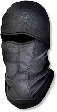 Ergodyne N-Ferno 6823 Winter Balaclava Ski Mask, Wind-Resistant Face Mask, Thermal Fleece, Black (Renewed)