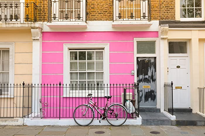 Amazon.com: Camden Town London UK Pink House Fine Art Photography ...