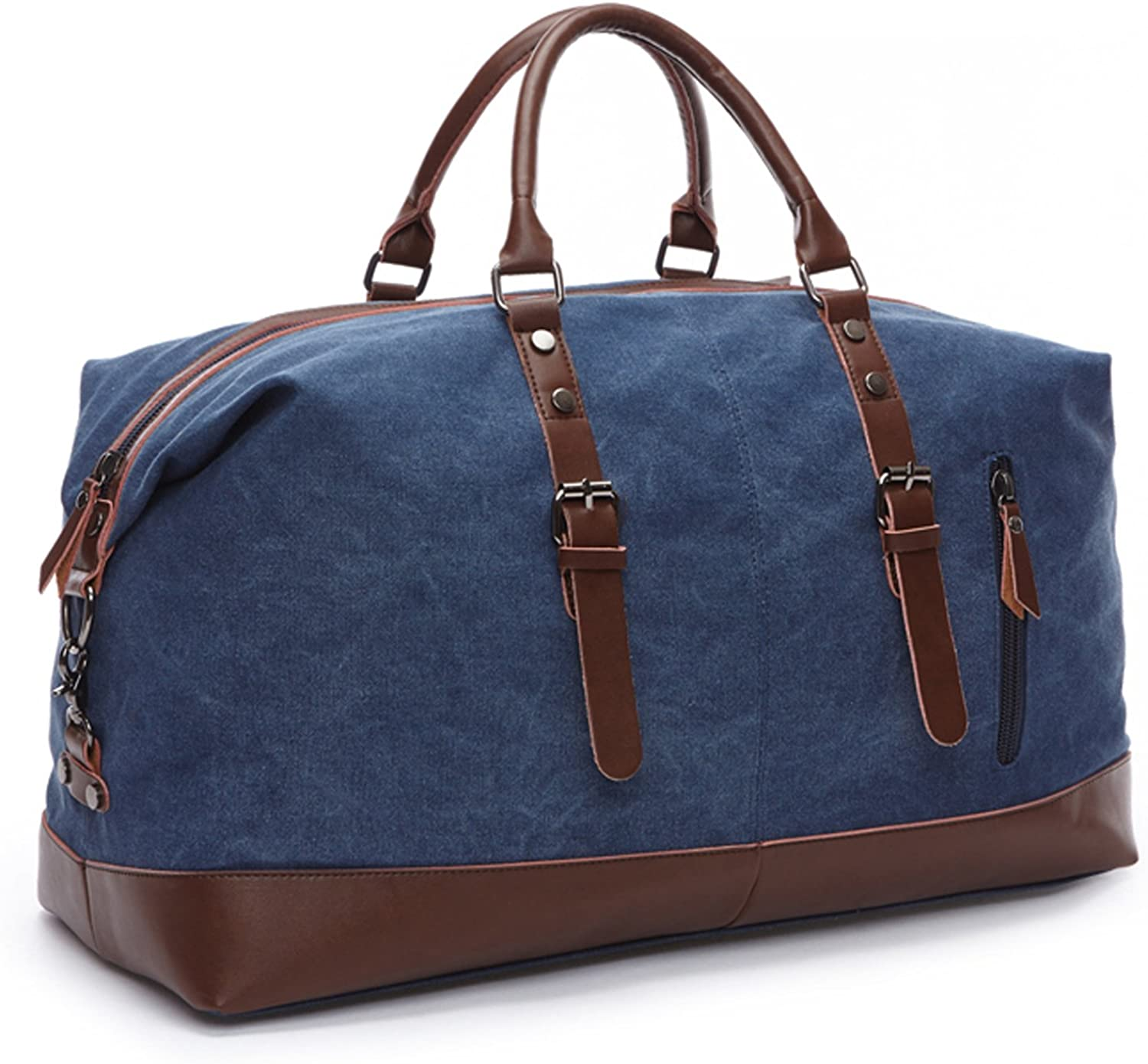 Seamand Canvas Travel Duffel Bag Weekender Extra Large Tote Satchel Handbag