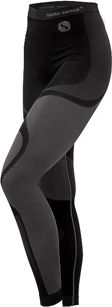 Sesto Senso® Pantalón Térmico Mujer Ropa Interior Térmica Funcional Calzoncillos Largos Leggins Termo Activo