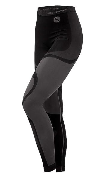 8b4333614a Sesto Senso® Pantalón Térmico Mujer Ropa Interior Térmica Funcional Calzoncillos  Largos Leggins Termo Activo  Amazon.es  Ropa y accesorios