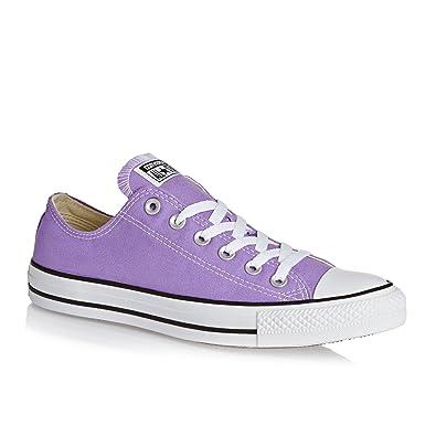 bae4b2cd7cb3e2 Converse Trainers - Converse Chuck Taylor All Star Lo Shoes - Frozen Lilac